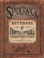 Cover of: Spiderwick's Notebook for Fantastical Observations (Spiderwick Chronicle) by Tony DiTerlizzi