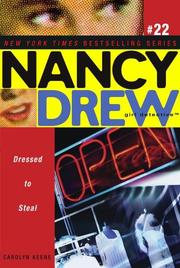 Cover of: Dressed to Steal | Carolyn Keene