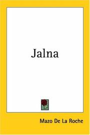 Cover of: Jalna by Mazo De la Roche