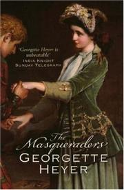 Cover of: Masqueradors, The | Georgette Heyer