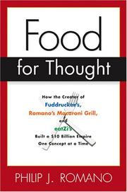 Cover of: Food for thought by Phil Romano