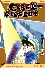 Cover of: Case Closed, Vol. 10 by Gosho Aoyama