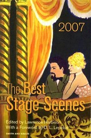 Cover of: The Best Stage Scenes Of 2007 | D. L. Lepidus