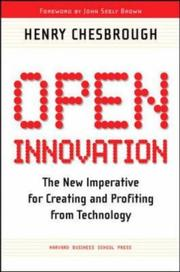 Cover of: Open Innovation by Henry William Chesbrough