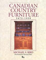 Cover of: Canadian country furniture | Michael S. Bird