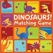 Cover of: Dinosaurs Matching Game | Bob Barner