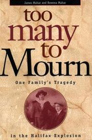 Cover of: Too Many to Mourn | James Mahar