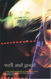 Cover of: Well and good by Thomas, John E.