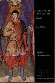 Cover of: Carolingian civilization | Paul Edward Dutton
