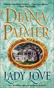 Cover of: Lady Love | Diana Palmer