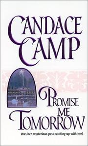 Cover of: Promise Me Tomorrow by Candace Camp