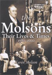 Cover of: The Molsons by Karen Molson