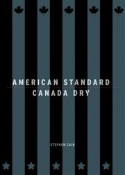 Cover of: American Standard/Canada Dry by Stephen Cain