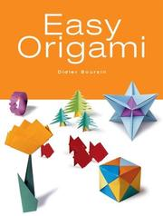 Cover of: Easy Origami by Didier Boursin