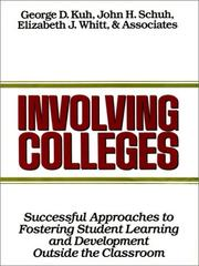 Cover of: Involving Colleges | John H. Schuh