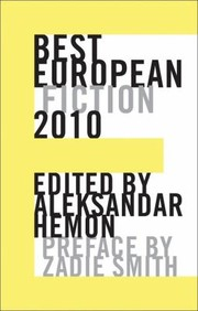 Cover of: Best European Fiction