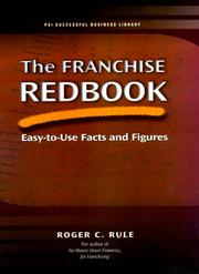 Cover of: The Franchise Redbook | Roger C. Rule