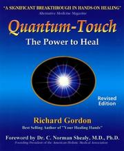 Cover of: Quantum-touch by Richard Gordon