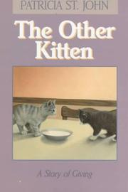 Cover of: The Other Kitten | Patricia St John