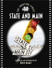 Cover of: State and Main | David Mamet