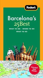 Cover of: Fodors Barcelonas 25 Best With Map