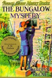 Cover of: The Bungalow Mystery | Carolyn Keene