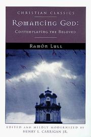 Cover of: Romancing God | Ramon Llull