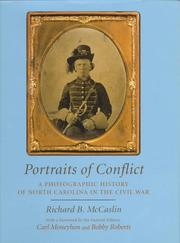 Cover of: A photographic history of North Carolina in the Civil War | Richard B. McCaslin