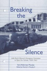 Cover of: Breaking the silence by Sara Alderman Murphy