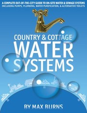 Cover of: Country  Cottage Water Systems | Max Burns