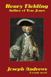 Cover of: Joseph Andrews by Henry Fielding