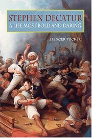 Cover of: Stephen Decatur by Spencer Tucker