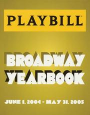 Cover of: The Playbill Broadway Yearbook | Robert Viagas