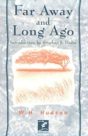 Cover of: Far away and long ago by W. H. Hudson