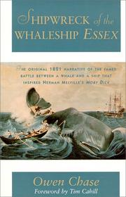 Cover of: Shipwreck of the Whaleship Essex | Owen Chase