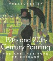 Cover of: Treasures of 19th- and 20th-century painting, the Art Institute of Chicago | James N. Wood