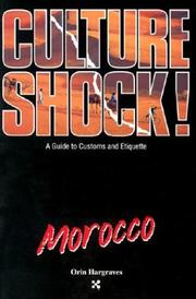 Cover of: Culture Shock! Morocco by Orin Hargraves