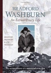 Cover of: Bradford Washburn: An Extraordinary Life | Lew Freedman