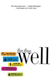 Cover of: Well | Lisa Kron