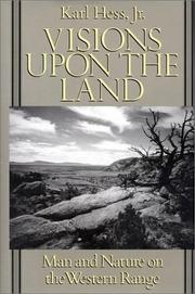 Cover of: Visions upon the land | Hess, Karl