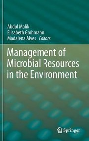 Cover of: Management of Microbial Resources in the Environment by Abdul Malik