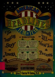 Cover of: American headlines, year by year |