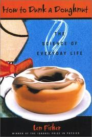 Cover of: How to Dunk a Doughnut | Len Fisher