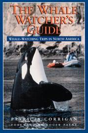 Cover of: The whale watcher's guide by Patricia Corrigan