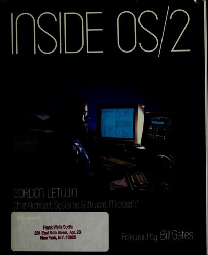 Inside OS/2 by Gordon Letwin