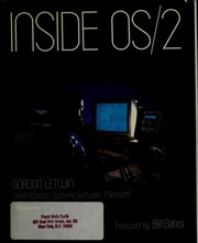 Cover of: Inside OS/2 by Gordon Letwin