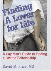 Cover of: Finding a Lover for Life | David Price