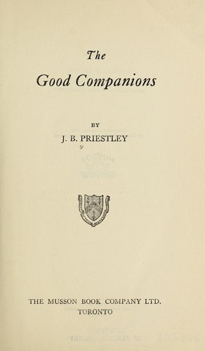 Good Companions by J. B. Priestley