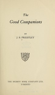 Cover of: Good Companions | J. B. Priestley