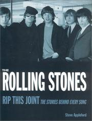 Cover of: The Rolling Stones | Steve Appleford, Chris Welch